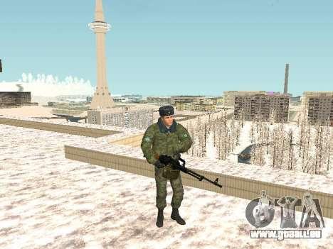 Pack de russe des armes légères pour GTA San Andreas quatrième écran