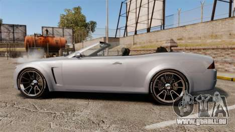 GTA V Lampadati Felon GT für GTA 4 linke Ansicht