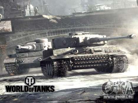 Boot-screen World of Tanks für GTA San Andreas