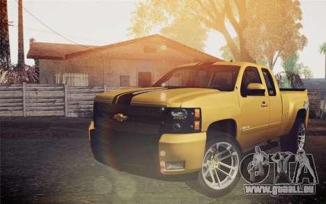 Chevrolet Silverado 2500 LTZ pour GTA San Andreas