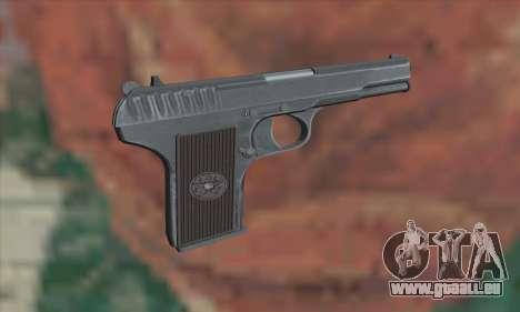 TT Pistol pour GTA San Andreas deuxième écran