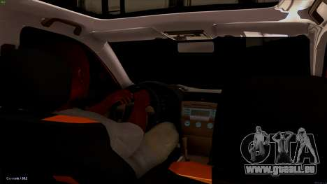 Toyota Camry für GTA San Andreas Rückansicht