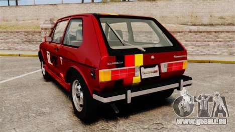 Volkswagen Rabbit GTI 1984 für GTA 4 hinten links Ansicht