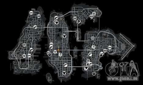 Panneaux d'affichage de GTA 5 pour GTA 4 cinquième écran