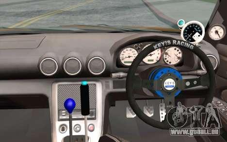 Nissan Silvia S15 GT Uras pour GTA San Andreas vue arrière