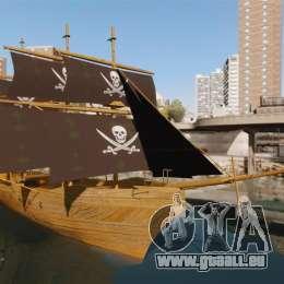 Bateau pirate pour GTA 4