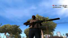 C-Hud by Stan Gomez pour GTA San Andreas