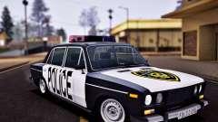 VAZ 2106 Polizei