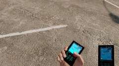 Das Thema für Telefon Aqua Blue v2.0