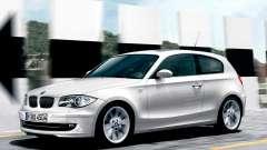 Les écrans de démarrage BMW 116i