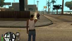 C-HUD by Leytenant pour GTA San Andreas