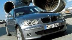 Les écrans de démarrage BMW 120i