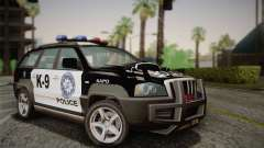 NFS Suv Rhino Heavy - Police car 2004 für GTA San Andreas