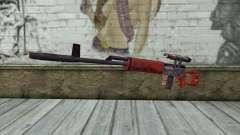 SVD Fusil de Sniper