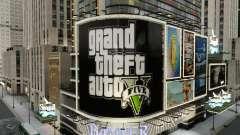 Panneaux d'affichage de GTA 5