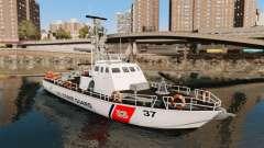 Канонерская bateau U.S. Coastguard