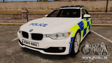 BMW 330d Touring (F31) 2014 Police [ELS] pour GTA 4