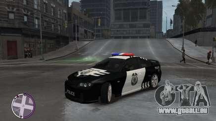 Holden Monaro CV8-R Police für GTA 4