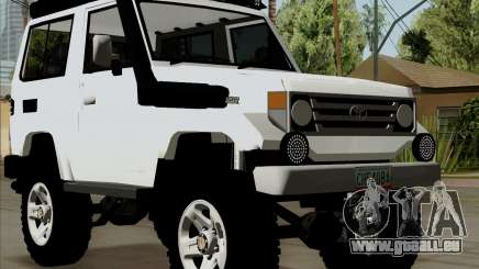 Toyota Land Cruiser Machito 2009 LX pour GTA San Andreas