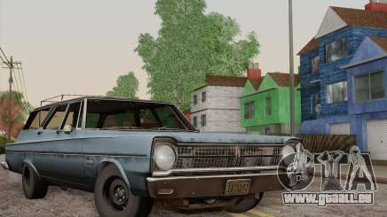 Plymouth Belvedere Station Wagon 1965 pour GTA San Andreas