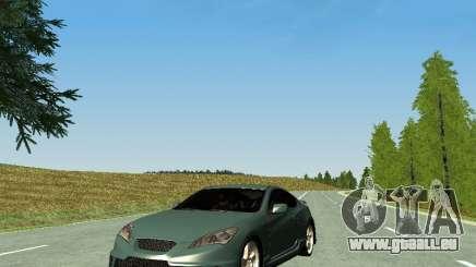 Hyundai Genesis Coupe pour GTA San Andreas