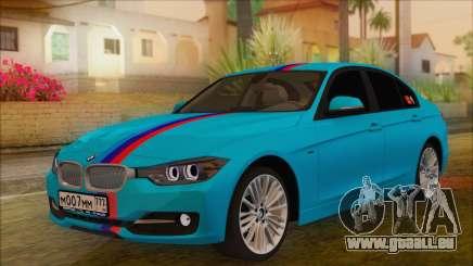 BMW 328d 2014 pour GTA San Andreas