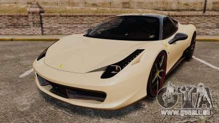 Ferrari 458 Italia 2011 für GTA 4