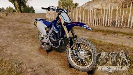 Kawasaki KX250F (Yamaha) für GTA 4