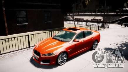 Jaguar XF-R 2012 v1.1 pour GTA 4