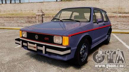 Volkswagen Rabbit GTI 1984 pour GTA 4
