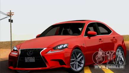 Lexus IS350 2014 F-SPORT für GTA San Andreas