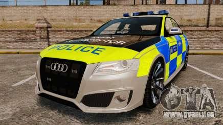 Audi S4 2013 Metropolitan Police [ELS] für GTA 4