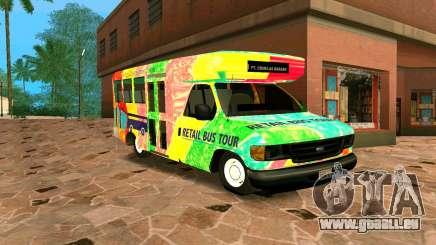 Ford E350 Shuttle Bus für GTA San Andreas