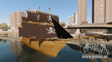Piratenschiff für GTA 4