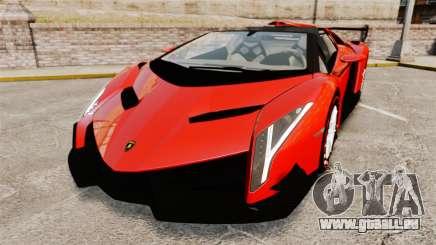 Lamborghini Veneno Roadster LP750-4 2014 für GTA 4