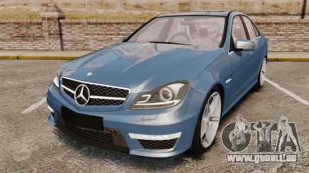 Mercedes-Benz C63 AMG 2013 für GTA 4