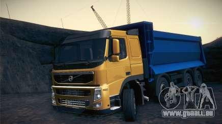 Volvo FM12 8X4 Dumper für GTA San Andreas