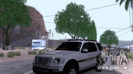 Ford Explorer Sheriff 2010 pour GTA San Andreas
