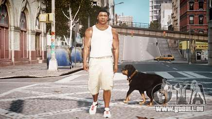 GTA V Franklin Clinton pour GTA 4