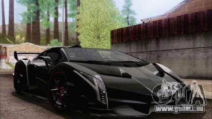 Lamborghini Veneno Roadster LP750-4 2014 pour GTA San Andreas
