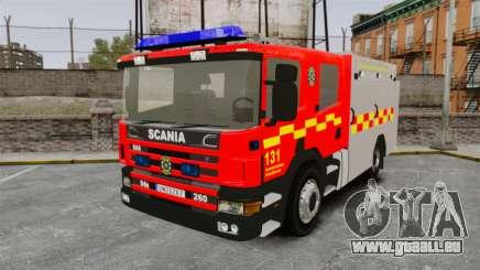Scania 94D 260 BAS1 Stockholm Fire Brigade [ELS] pour GTA 4