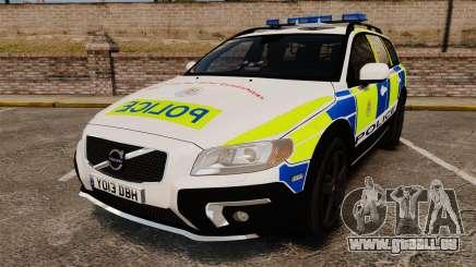 Volvo XC70 2014 Police [ELS] für GTA 4