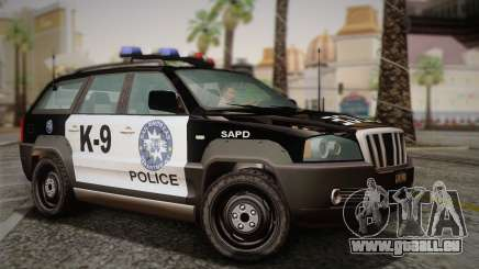 NFS Suv Rhino Light - Police car 2004 pour GTA San Andreas