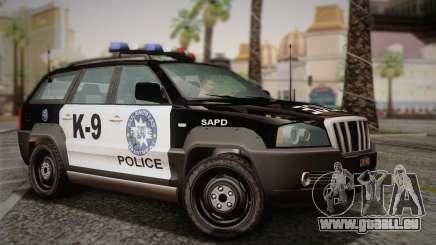 NFS Suv Rhino Light - Police car 2004 pour GTA San Andreas