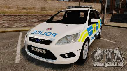 Ford Focus Estate British Police [ELS] für GTA 4