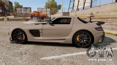 Mercedes-Benz SLS 2014 AMG NFS Stripes pour GTA 4 est une gauche