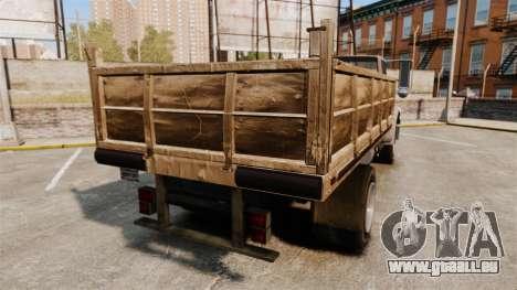 GTA IV TLAD Vapid Yankee pour GTA 4 Vue arrière de la gauche