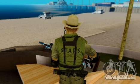 Resident Evil Apocalypse S.T.A.R.S. Sniper Skin pour GTA San Andreas neuvième écran