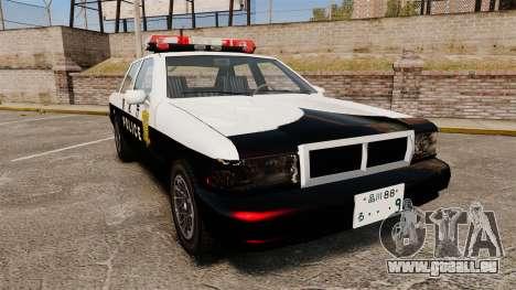 GTA SA Japanese Police Cruiser [ELS] für GTA 4