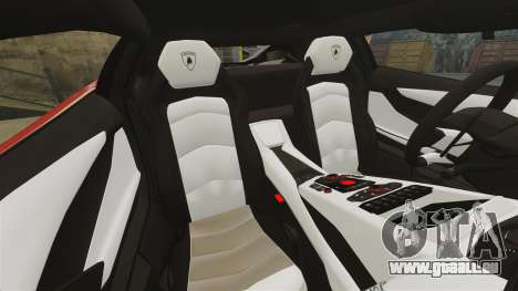 Lamborghini Aventador LP700-4 2012 [EPM] Miku für GTA 4 obere Ansicht